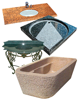 Ванны и раковины