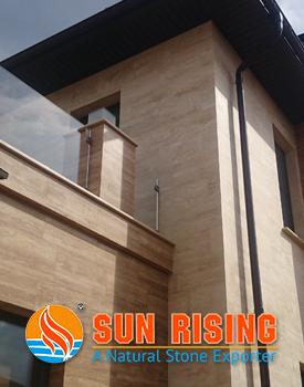 Травертин Sun Rising