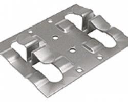 Кляммер рядовой оцинкованный (8-10х1 мм)